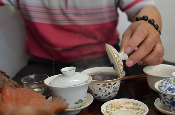 Tea ritual Lara Berendt China in Focus