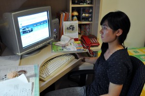 Beijing residents like Zhou Yu, a middle school English teacher in the Tong Zhou district, continue to face growing traffic concerns. Photo by Jasmin Sun.